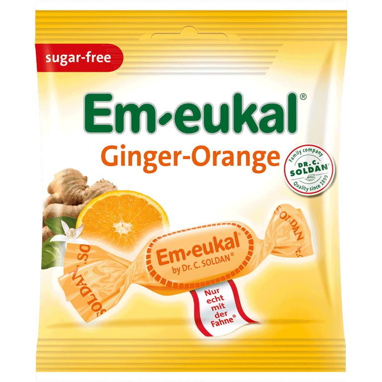 Em-eukal Ginger-Orange