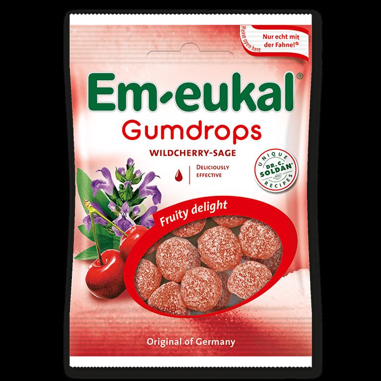 Em-eukal Gumdrops WILDCHERRY SAGE